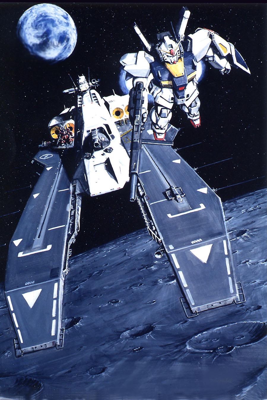 Rx-178 Gundam Mk II - ...